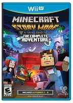 Nintendo Minecraft: Story Mode - The Complete Adventure Wii U)