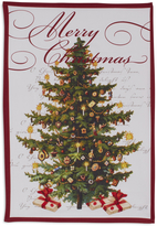 Sur La Table Merry Christmas Tree Kitchen Towel