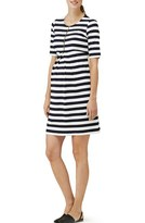 Isabella Oliver Women's 'Baywood' Stripe Maternity Dress