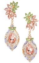 Adia Kibur Women's Crystal Clip-On Earrings