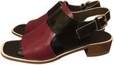 Marni Burgundy Patent leather Sandals