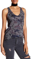 Zadig & Voltaire Joss Printed Cashmere Tank
