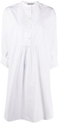 Ports 1961 Plain Long-Sleeved Shirt Dress