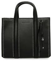 Mackage Kyra-M Mini Leather Tote Bag In Black