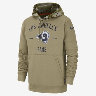 Nike Men's Hoodie Therma Salute to Service (NFL Rams)