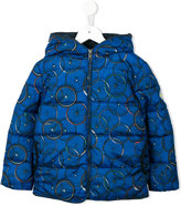 Paul Smith printed padded jacket
