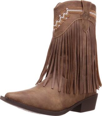 Roper Girls' Fringes Western Boot