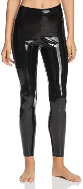 2b65841b8 Black Patent Leggings - ShopStyle