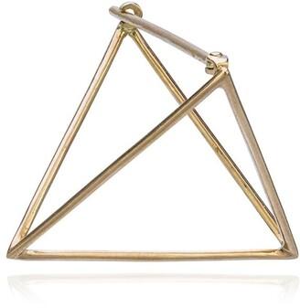 Shihara 25mm Triangle Earring