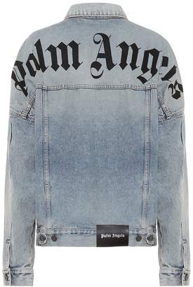 Palm Angels Logo denim jacket