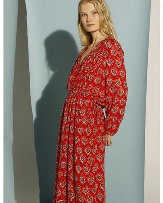 Swildens Vivaldy Red Robe Dress - FR 38 (10)