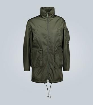 Prada Technical fabric coat