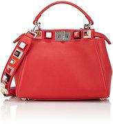 Fendi Women's Peekaboo Mini-Satchel-Red