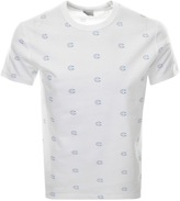 Champion All Over Print Logo T Shirt White