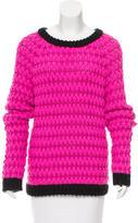 Tibi Knit Scoop Neck Sweater w/ Tags
