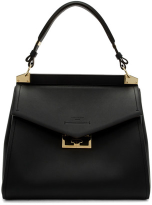 Givenchy Black Medium Mystic Top Handle Bag