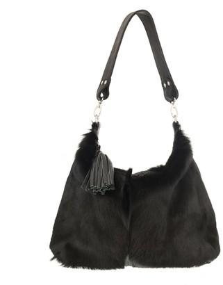 Vash Alice Messenger Bag In Black