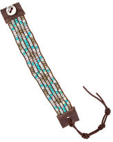 Chan Luu Turquoise, Amazonite & Crystal Bead Bracelet