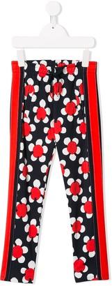 Little Marc Jacobs floral print track pants
