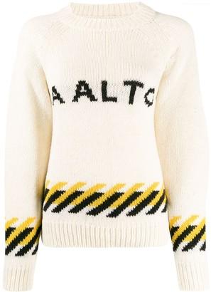 Aalto Logo Crew-Neck Jumper