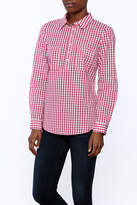Jade Pink Checkered Blouse