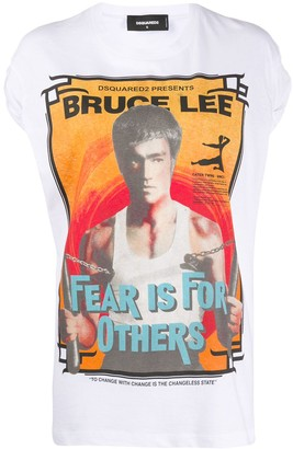 DSQUARED2 Bruce Lee print T-shirt