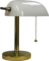 Ore International K-4249T Twilight Table Lamp Silver 17.75 x 12.25 x 30.25