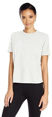 Bench Women's Sequin Embriodered Tee Shirt