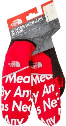 Supreme TNF winter runners gloves