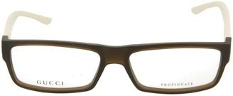 Gucci Square-Frame Optical Glasses
