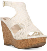 Fergalicious Kendra Platform Wedge Sandals