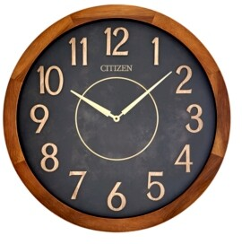Citizen Indoor and Outdoor Wooden Wall Clock