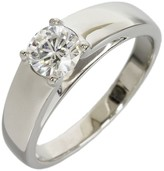 Bulgari Platinum 0.50ct Diamond Marryme Ring Size 5.5