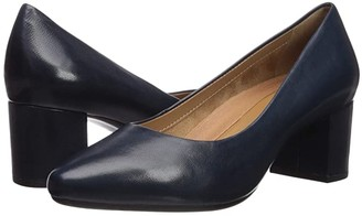 Aerosoles Silver Star (Navy Leather) Women's Shoes