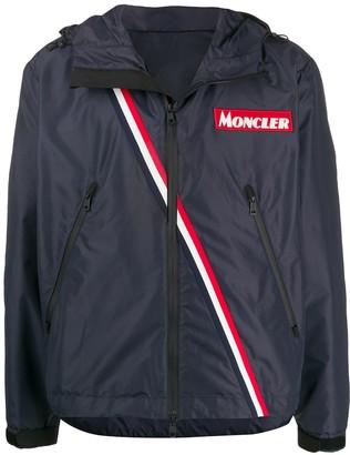 Moncler Stripe Detail Sports Jacket