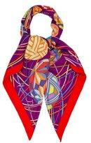 Hermes L'art du Temari Cashmere Shawl