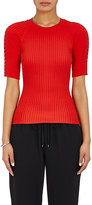 Alexander Wang Women's Embellished Ribbed Fitted Sweater