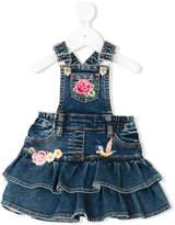 MonnaLisa dungarees-style rara skirt