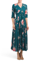 Juniors Indiana Floral Maxi Dress