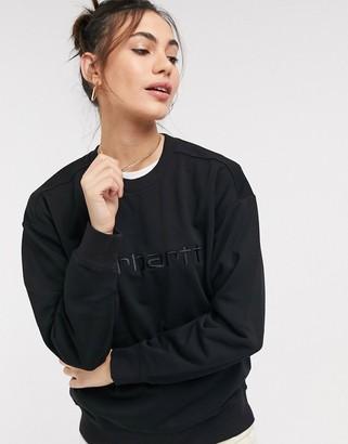 Carhartt WIP Carhartt sweatshirt in black