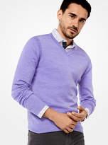 Michael Kors Merino V-Neck Pullover