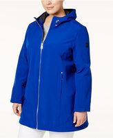 Calvin Klein Plus Size Hooded Softshell Coat