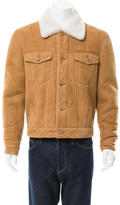 Marc Jacobs Suede Shearling Collar Jacket w/ Tags