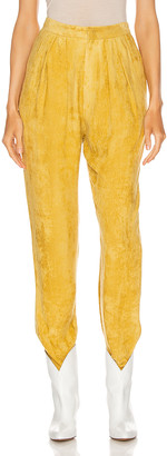 Isabel Marant Fany Pant in Dusty Yellow | FWRD