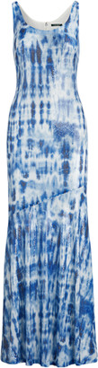 Ralph Lauren Sequinned Tie-Dye Maxidress