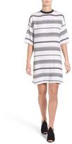 KENDALL + KYLIE Kendall & Kylie Oversize Woven T-Shirt Dress