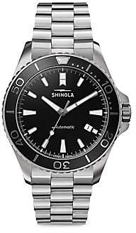 Shinola Men's The Lake Superior Monster Automatic Stainless Steel Bracelet Watch
