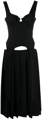 Natasha Zinko Corset Combo Dress