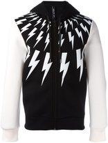 Neil Barrett 'Lightning Bolt' hoodie