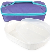 Corningware French White 3-Qt. Baker & Portable Bag